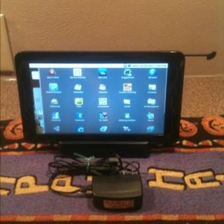 "Pandigital Black 9"" 2GB Wifi,LCD"