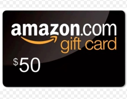 $50.00 AMAZON GIFT CARD - 8 DAYS ONLY
