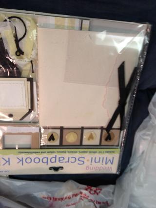 NIP Sealed Colorbok Wedding Mini Scrapbook Kit