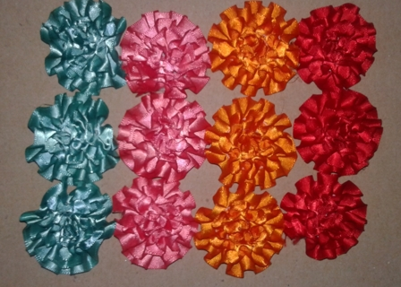 Free 50 ribbon flowers bows scrapbooking paper crafts 50 ribbon flowers bows mightylinksfo