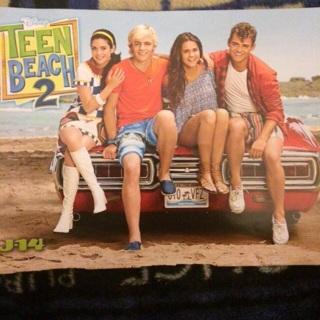 Teen Beach Movie/Selena Gomez poster