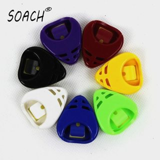 SOACH 7 pieces packaged guitar picks box speacial color Ukulele guitar ukulele guitar picks Box