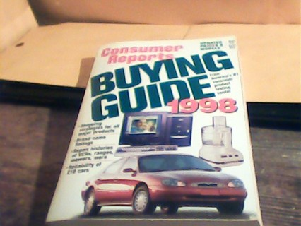 Consumer Reports Buying Guide 1998