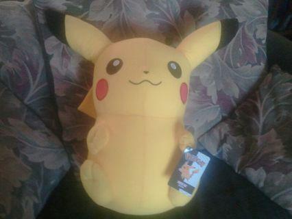 Big Pikachu plushy
