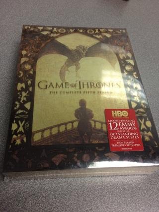 Game of thrones season 5 NEW