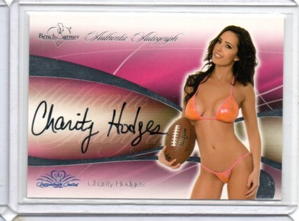 2008 Benchwarmer Charity Hodges Autograph