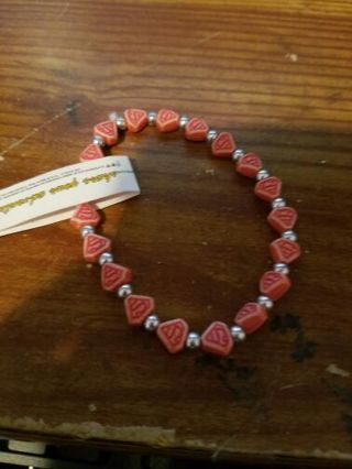 Bnwt superman bracelet red