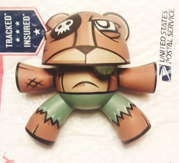 1 rare kid robot toy Joe Ledbetter COLLECTIBLE VINYL TOY