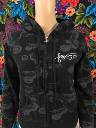 WOMEN'S FOX Hoodie Sweatshirt Dirtbike Motocross Attire Pullover Sweater