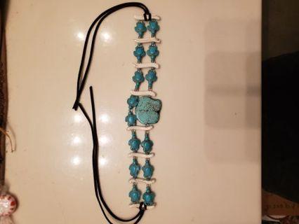 Handmade Native American Turquoise Choker