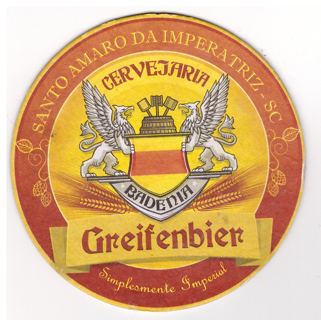 BADENIA beer coaster