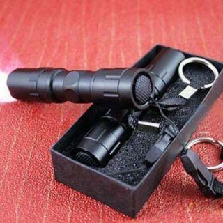 Super Bright Flashlight Mini 3W LED Medical Light Small Torch Lamp Keychain