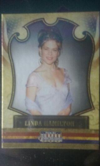 Linda Hamilton Trading Card