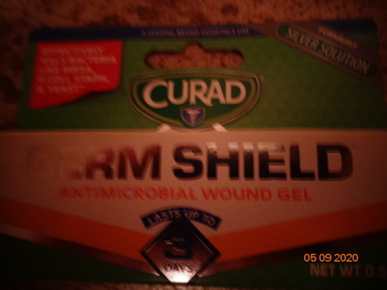 antimicrobial wound gel