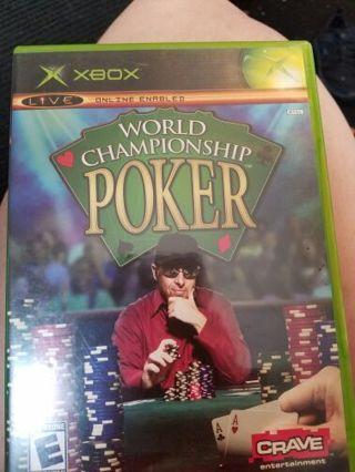 Xbox world poker