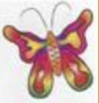BUTTERFLY Temporary Tattoo SMALL SIZE