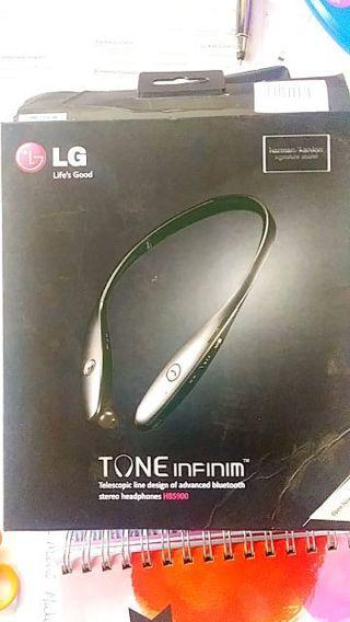 LG Bluetooth head phones