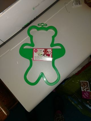 Wilson Giant Teddy Bear Cookie Cutter NEW