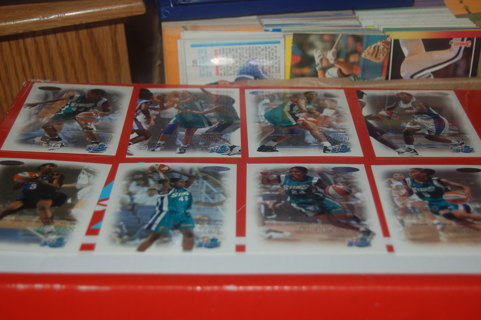 Set of 12 WNBA Basketball Cards Charlotte Sting