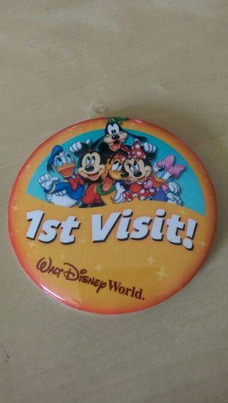Walt Disney World 1st Visit pin