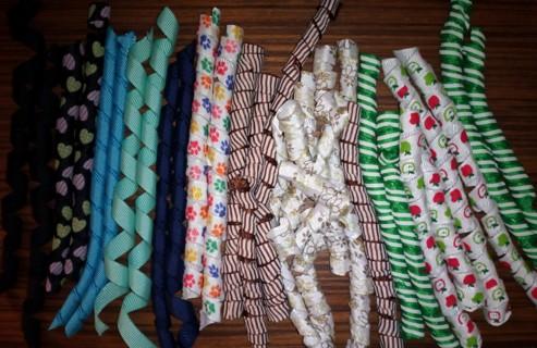 50+ Yards of Ribbon,Korkers,Bows & Ribbon Flowers