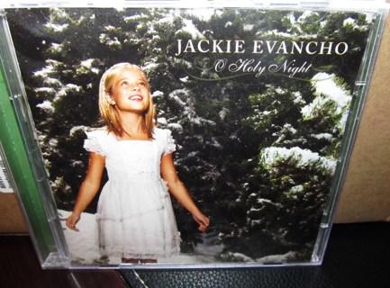 Christmas Music CD & DVD - Jackie Evancho O Holy Night - Seen on America's Got