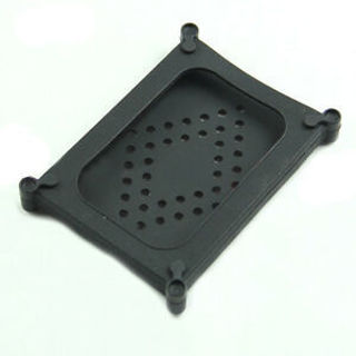 "Black Silicone 2.5"" SATA IDE HDD Hard Disk Drive Skin Cover Case Protector"