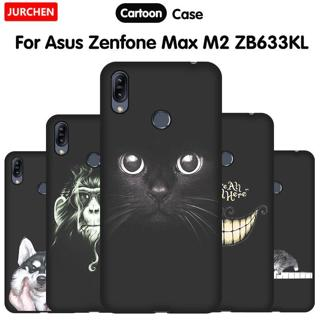 JURCHEN Phone Case For Asus Zenfone Max ( Pro ) M2 ZB631KL ZB632KL ZB633KL Silicone Soft Cover For