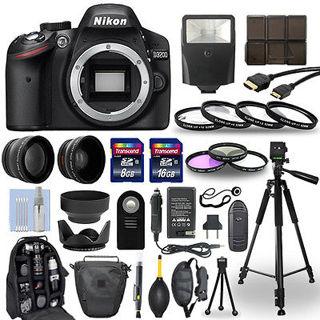 ~BRAND NEW! HUGE BUNDLE! Nikon D3200 24.2 MP Digital SLR Camera! WOW!!
