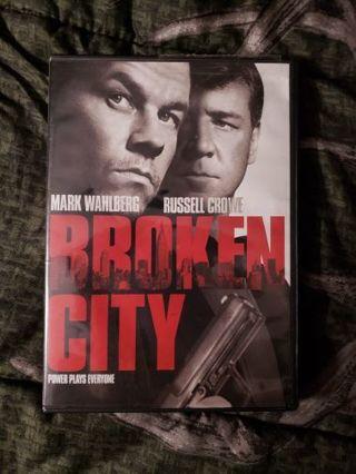 DVD movie of... Broken City.. Mark Wahlberg. Russell Crowe.