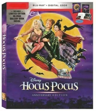 Hocus pocus MA Bluray 25th edition code +points