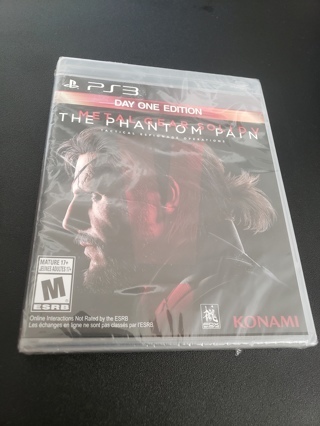 Metal Gear 5 PS3 game