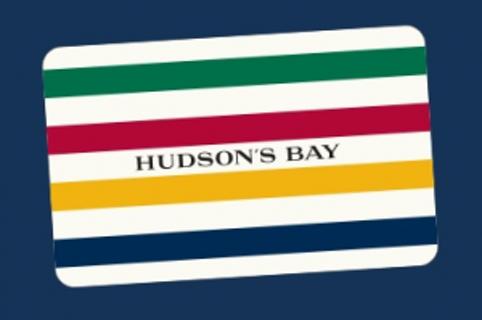 50 CAD Hudson's Bay eGift Card
