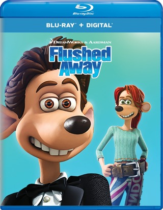 Flushed Away (Digital HD Download Code Only) **Hugh Jackman** **Kate Winslet**