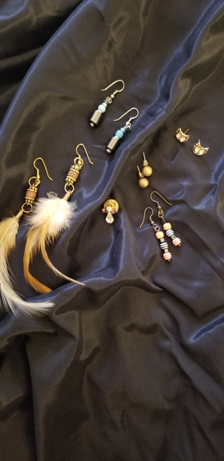 Earring (and one little angel pin) Bundle!