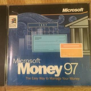 free microsoft money 97 with key software listia com auctions