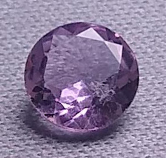 GEMSTONE ALL NATURAL AMETHYST BEAUTIFUL FANTASTIC CUT AND COLOR WEIGHT .86 POINTS WHAT A TRUE BEAUTY