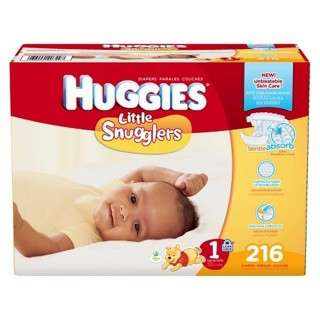 Huggies® Little Snugglers Diapers Economy Plus Pack (Select Size)