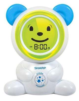 SHARP Galaxy Bear Projection Alarm Clock