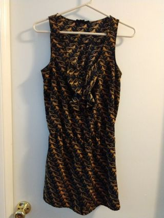 Forever 21 jumpsuit size small petite. Free shipping and tracking