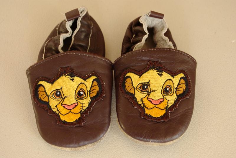 Free Disney Lion King Simba Soft Soled Baby Crib Shoes