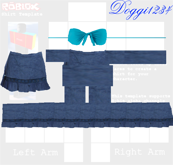 Free roblox outfit template other auctions Roblox designing clothes
