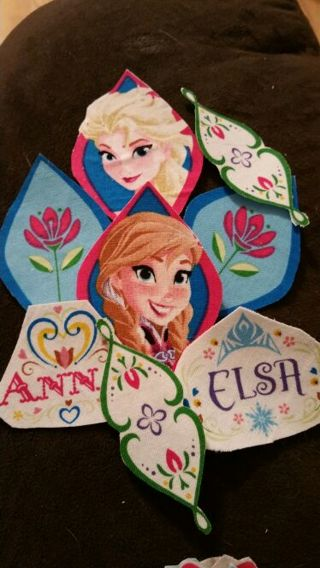 Disney Frozen iron on cloth