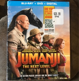 Jumanji The next level digital code