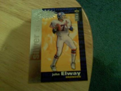 JOHN ELWAY ( COLLECTORS CHOICE SILVER SET )
