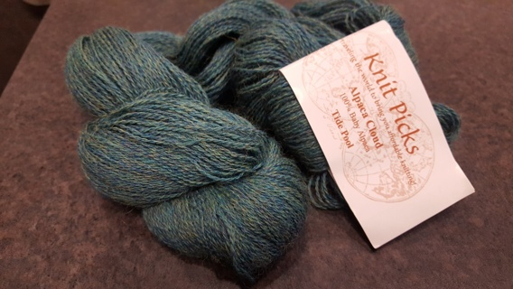Knit Picks Baby Alpaca yarn