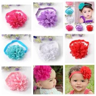 Baby Toddler Girls Chiffon Headband