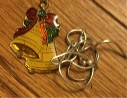 Christmas bells and silver scrap