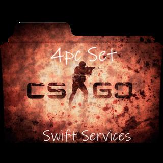CS-GO Starter Set 4 Pieces