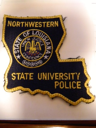#2 Authentic Northwestern State of Louisiana State University Police Patch - FREE Shipping!